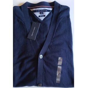 NWT Tommy Hilfiger Navy Blue Cardigan  size XXL